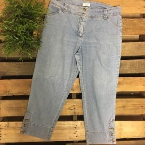 Carter Club pant shop crop jeans size 12